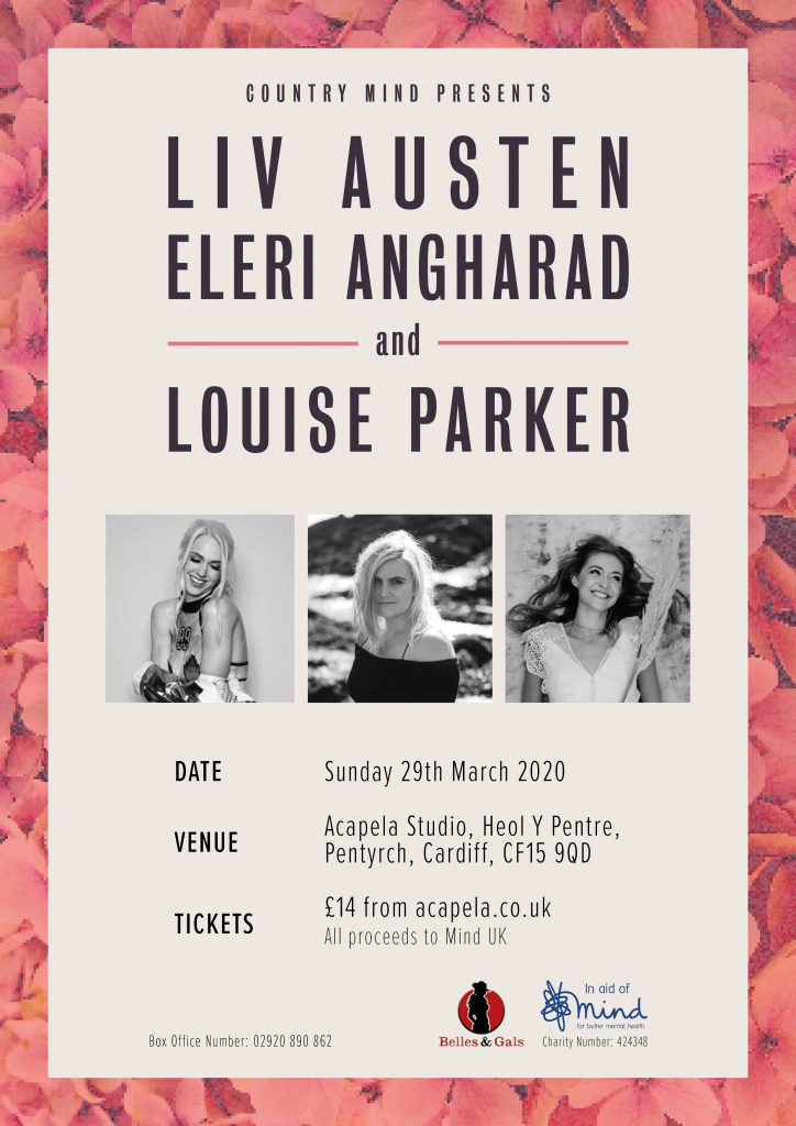 Country mind benefit show Louise Parker announcement
