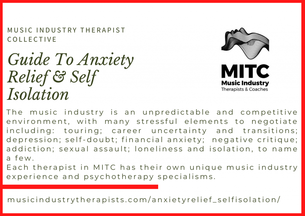 music industry therapist collective