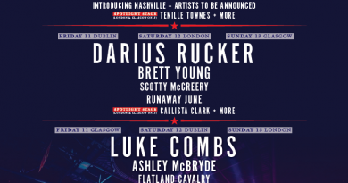 Country to Country Headliner Breakdown 2022